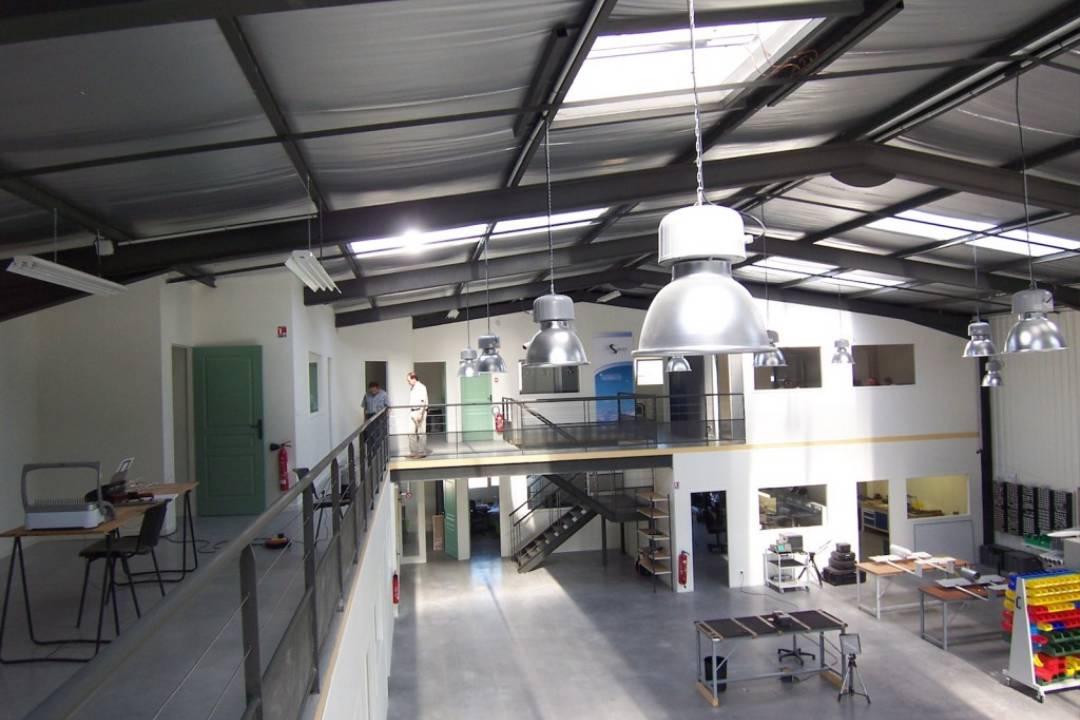 Construction d 39 un b timent industriel dans la dr me - Cout construction batiment industriel ...