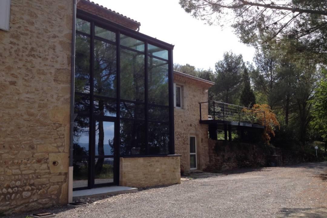 Extension maison metallique extension alatoire for Extension maison ossature metallique